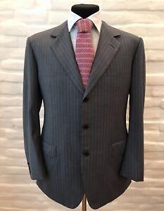 BRIONI Parigi Men's Suit 100% Wool Size 56 Made In Italy!