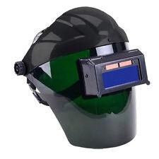 Solar Auto Darkening Welding Helmet Semi-open Solar Face Shield Mask Black