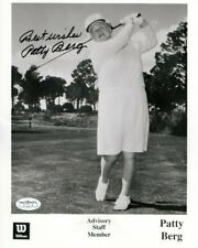 Patty Berg Signed Autographed 8X10 Photo LPGA Founding Member JSA
