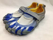 Vibram Five Fingers 349 Shoes Mens Euro 43 US 10 Blue Yellow Minimalist Running