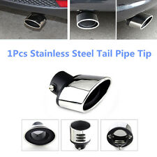 DIY Fashionable 63MM Stainless Steel Car Exhaust Muffler Tip End Trim Tail Pipe