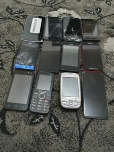 Job lot of 11 devices: Alcatel Huawei Motorola Mix Joblot Bulk Faulty 049