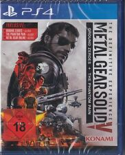 METAL GEAR SOLID 5-The Definitive Experience-ps4-neu & OVP-versione tedesca