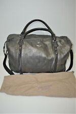 """Zadig & Voltaire, Superbe sac week-end 50 """" Sunny XL """", en cuir gris métalisé"""