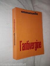 L'ANTIVERGINE Emmanuelle Parnaso 1965 romanzo libro di