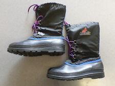 Kamik black nylon and rubber, winter snow pack boots. Men's 11