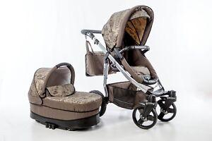 Kinderkombiwagen Kinderwagen Onyx 3 in 1 Alu Gestell