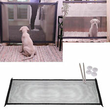 Portable Magic-Gate Folding Safety Guard Nylon Mesh Net Fence for Pet Dog Cat