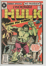 HULK #65 french comic français EDITIONS HERITAGE