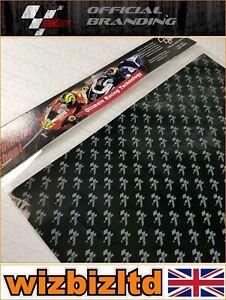 Officiel MotoGP Moto Protection Plaque (45x33cm Marche Arrière Logo )