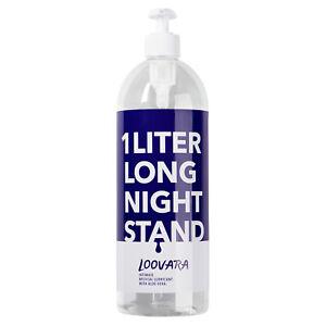 Loovara Long Night Stand Massage-Gel 1 Liter XL Gleitgel Gleitmittel Erotik Lube