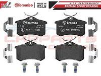 BREMBO GENUINE ORIGINAL PREMIUM BRAKE PADS PAD SET REAR AXLE P85020