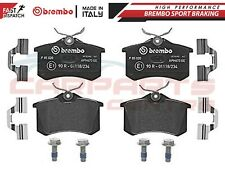 BREMBO GENUINE ORIGINAL PREMIUM BRAKE PADS PAD SET REAR AXLE P85020