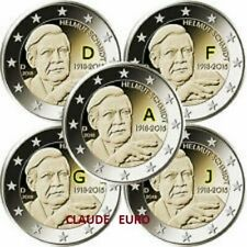 Pièces euro d'Allemagne Année 2018 10 Euro