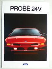 Prospekt Ford Probe 24V zur Premiere, 12.1992, 6 Seiten, folder