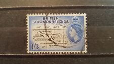 SOLOMON ISLANDS CLASSICS 1963 MI.NR. 110 w.m. 3