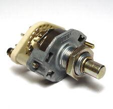 ITT Drehschalter / 2-poliger Schalter mit 3 Stellungen für Audio Eingangswahl