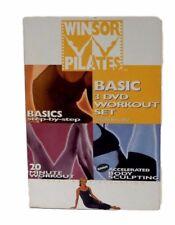 Winsor Pilates Basic 3 DVD Set Fitness Exercise Workout Weight Loss Mari Winsor
