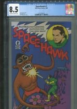 """SPACEHAWK 1 """"BASIL WOLVERTON'S MYSTERIOUS MAN FROM OUTER SPACE"""" CGC VF PLUS 8.5"""