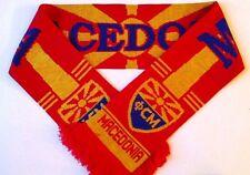 Macedonia Football Scarves NEW from Superior Acrylic Yarns