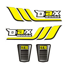Kit 4 Stickers plastifiés DAX Honda ST70 type origine