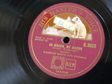 78rpm WEBSTER BOOTH oh maiden my maiden / student prince serenade