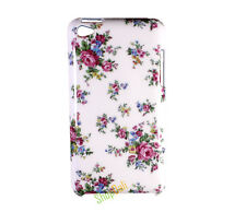 Rose Flower Pattern White Hard Case Cover for iPod Touch 4 Gen 4th Generation 4g