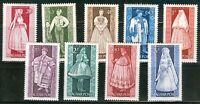 HUNGARY - 1963.Provincial Costumes Cpl.Set  MNH! / art Mi: 1954-1962