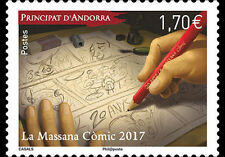 andorra 2017 andorre Massana Comic festival cartoon Karikatur drawing design 1v