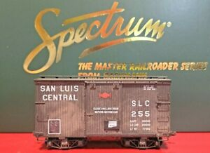 On30 Bachmann 18' Box Car SLC Red San Luis Central Custom Painted & Weathered