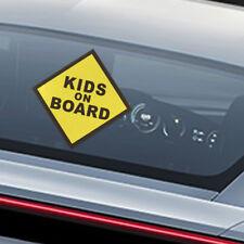 KIDS ON BOARD Vinyl Decal Car Window Bumper Sticker Child Safety Sign Warning