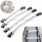 4pcs Ironing Board Cover Clip Fasteners Tight Fit Elastic Brace Bed Sheet Grips