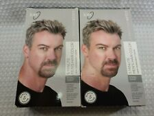 Ion 5 Minute Mens Hair Color Steel Gray Color Brilliance Demi-Permanent (2-Pack)