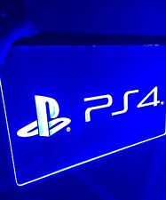 PS4 LED Sign for Game Room,Office,Bar,Man Cave. US SELLER, NEW!