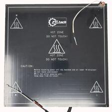 HeavyDuty 300 x 3 mm Square Aluminum Heated Heat Bed 12v Coated Glass 3D Printer