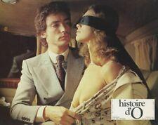 SEXY CORINE CLERY HISTOIRE D'O 1975 LOBBY CARD ORIGINAL  #3 BUSTY