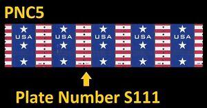 US 4385 Patriotic Banner Presorted Standard 10c PNC5 S111 MNH 2009