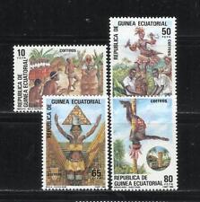 GUINEA ECUATORIAL. Año: 1986. Tema: FOLCLORE.