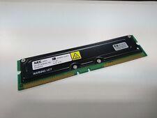 RIMM RAMBUS RDRAM NEC MC-4R128CEE6C-745 128MB PC700 noECC HP 1818-8013 5065-0491