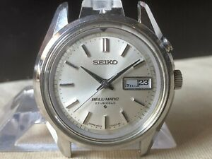 Vintage SEIKO Automatic Watch/ BELL-MATIC 4006-7010 27J SS 1969 For Repair