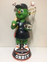 "ORBIT Houston Astros Mascot 36"" Bobble Head World Series Champs Trophy Edition"