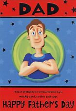 FUNNY FATHER'S DAY CARDS 1ST P&P 12 DIFFERENT DESIGNS FATHERS DAY GREETING CARD