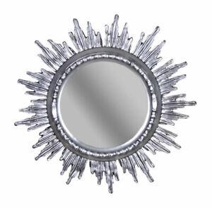 Venetian Star Silver Mirror Antique Wall Mirror Baroque Mirror