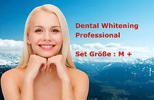 Profi Bleaching Gel Set, Gr.M+ Zahnweiß Zahnaufhellung Weiße Zähne Zahnbleaching
