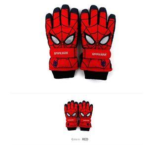 Kakao Character Waterproof Ski Snowboard Kids Children Padding Winter Fur Gloves