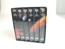 ** Star Trek The Movie Collection Set of 6 Original VHS - Brand new, sealed.