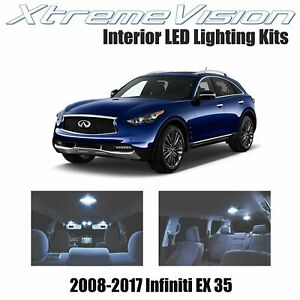 XtremeVision LED for Infiniti EX 35 2008-2017 (6 Pieces) Cool White Premium Inte