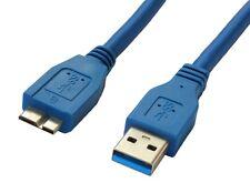 HighSpeed 3m USB 3.0 A an Micro-B-Kabel für Seagate FreeAgent Festplatte HDD