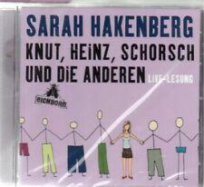 Sarah Hakenberg - Knut, Heinz, Schorsch und die anderen - Hörbuch - CD - Neu / O