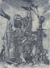 NEW Exlibris VENUS & TANNHAUSER by Konstantin Antioukhin Original Signed